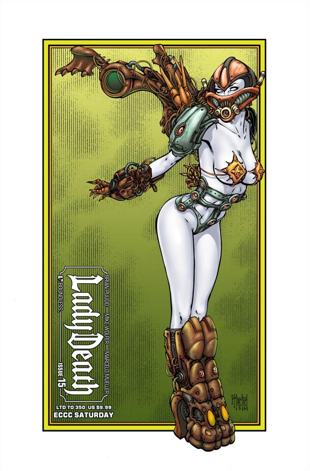 Lady Death #15 (ECCC Saturday Cover)