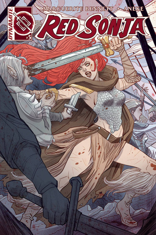 Red Sonja #5 (Sauvage Cover)