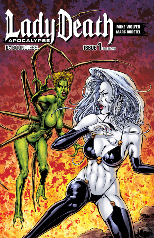 Lady Death: Apocalypse #1 (Box Set VIP Covers)