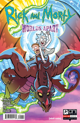 Rick and Morty: Worlds Apart #1 (Fleecs Cover)