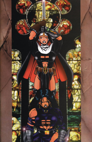 Warrior Nun #1 (Razor Commemorative Cover)