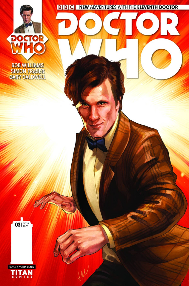 Doctor Who: New Adventures with the Eleventh Doctor #3