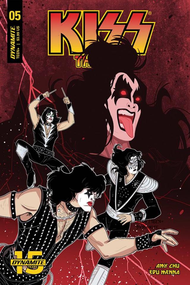 KISS: The End #5 (Medri Cover)