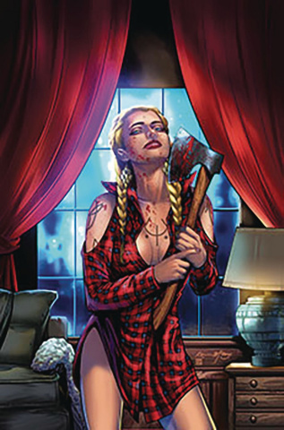 Grimm Fairy Tales 2019 Horror Pinup (McCoy Cover)