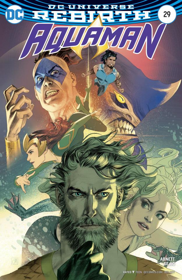 Aquaman #29 (Variant Cover)