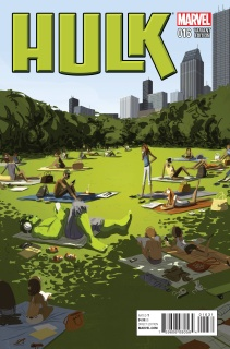 Hulk #16 (NYC Cover)