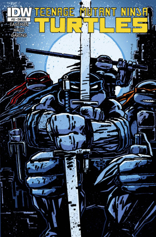 Teenage Mutant Ninja Turtles #52 (Subscription Cover)