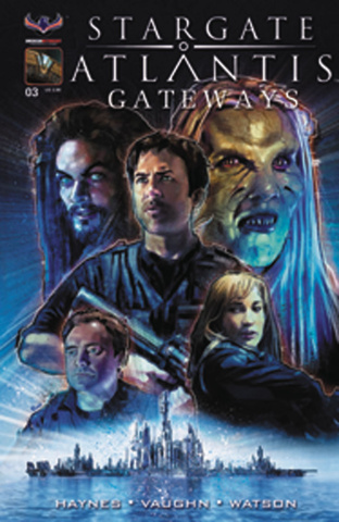 Stargate Atlantis: Gateways #3 (Pinto Cover)