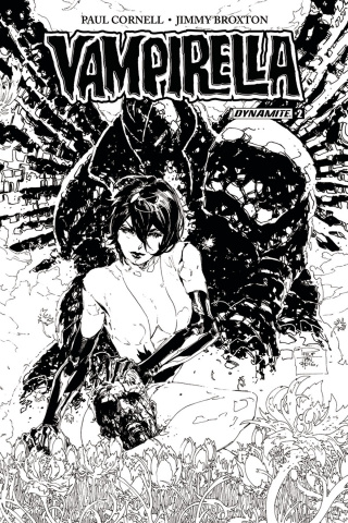Vampirella #2 (20 Copy Tan B&W Cover)