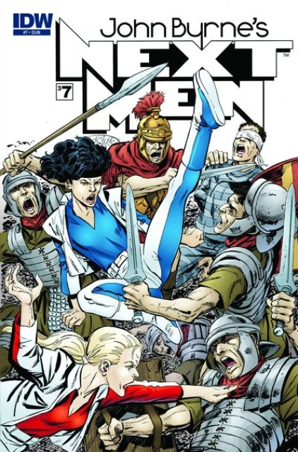 John Byrne's Next Men #7