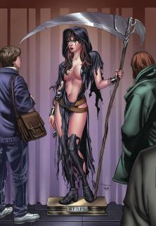 Grimm Tales of Terror #12 (Santacruz Cover)