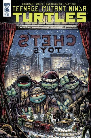 Teenage Mutant Ninja Turtles #65 (Subscription Cover)