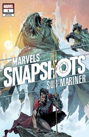 Marvels Snapshots: Sub-Mariner #1 (Dell'otto Cover)