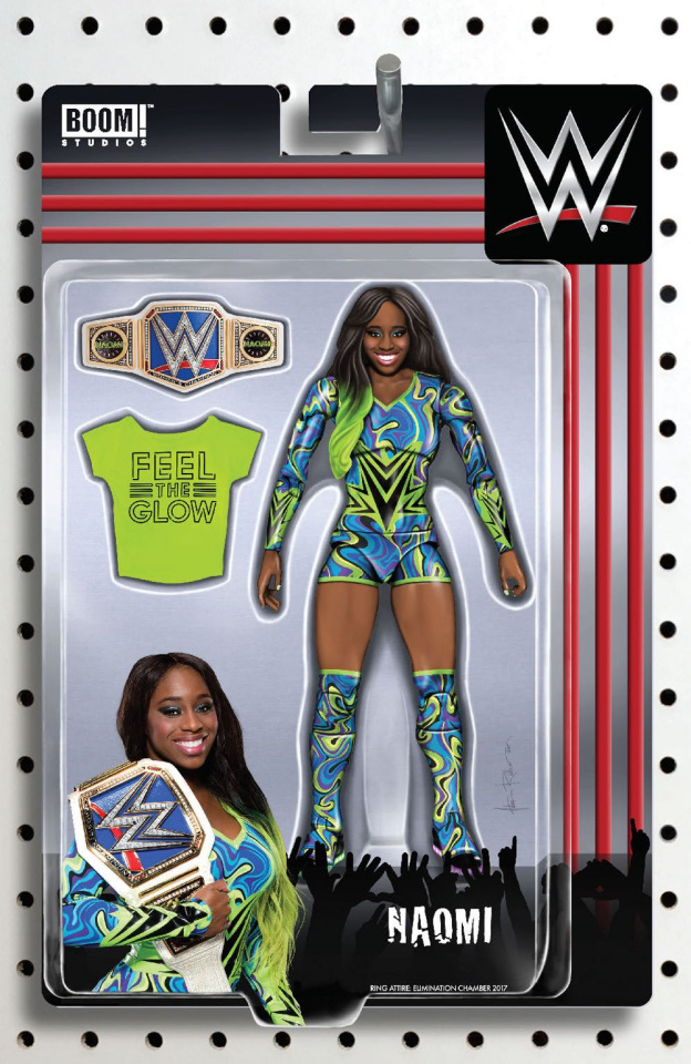 WWE #11 (Unlockable Action Figure Cover)