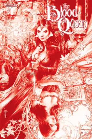 The Blood Queen #1 (Rare Anacleto Blood Red Cover)