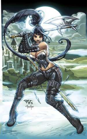 Grimm Fairy Tales: Wonderland #22 (Pantalena Cover)