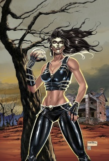 Grimm Fairy Tales: Day of the Dead #4 (Goh Cover)