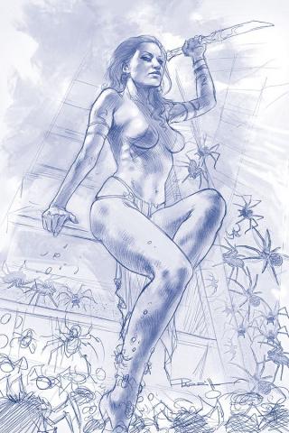 Dejah Thoris #4 (25 Copy Parrillo Virgin Tint Cover)