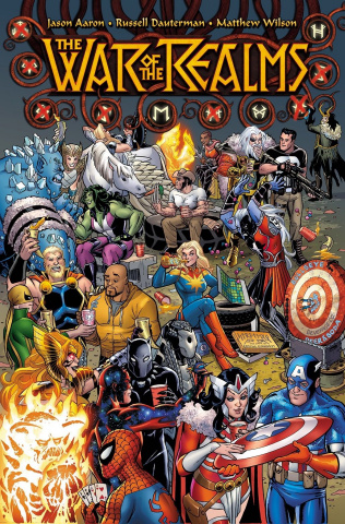The War of the Realms #1 (Conner Party Cover)