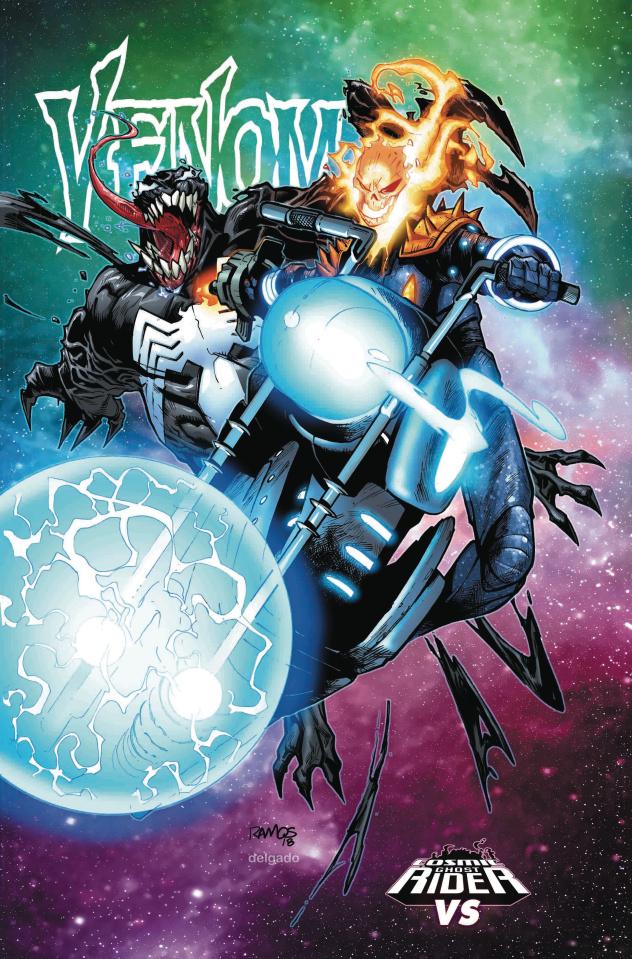Venom #6 (Ramos Cosmic Ghost Rider Cover)