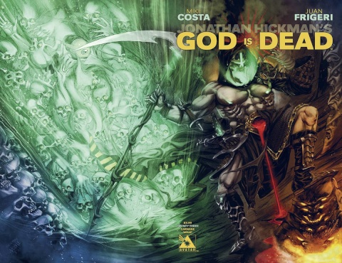 God Is Dead #23 (Carnage Wrap Cover)