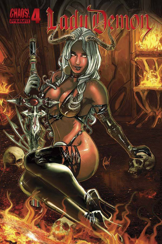 Lady Demon #4 (Poulat Bombshell Cover)