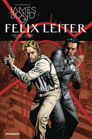 James Bond: Felix Leiter #2 (Perkins Cover)