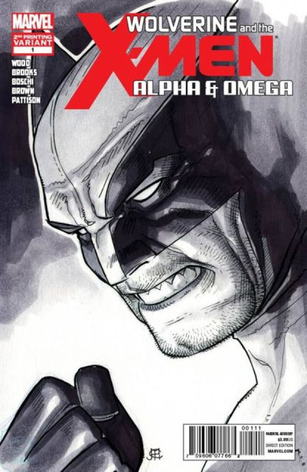 Wolverine and the X-Men: Alpha & Omega #1 (2nd Printing)