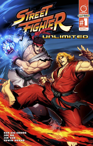 Street Fighter Unlimited #1 (Genzoman Story Cover)