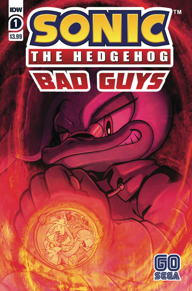Sonic the Hedgehog: Bad Guys #1 (Hammerstrom Cover)