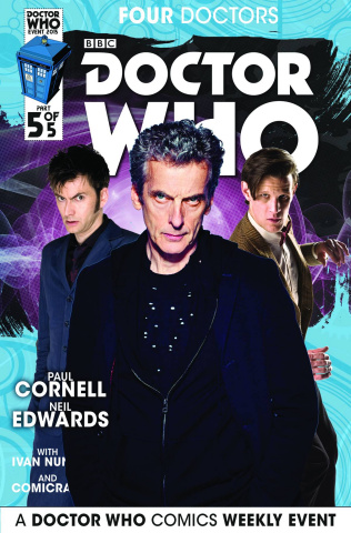 Doctor Who: Four Doctors #5 (Subscription Photo Cover)