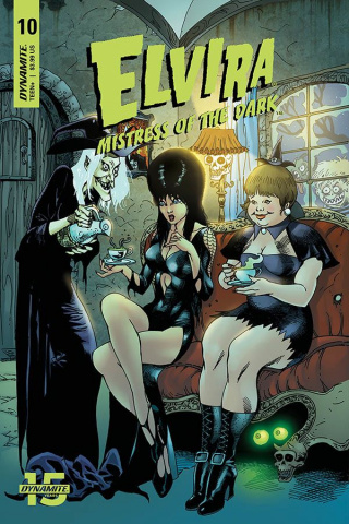 Elvira: Mistress of the Dark #10 (Open Order Castro Cover)