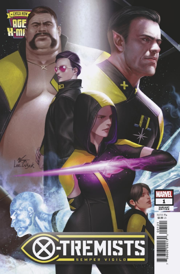Age of X-Man: X-Tremists #1 (Inhyuk Lee Connecting Cover)