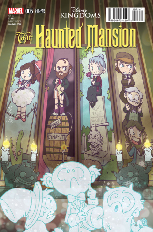 The Haunted Mansion #5 (Cook Cover)