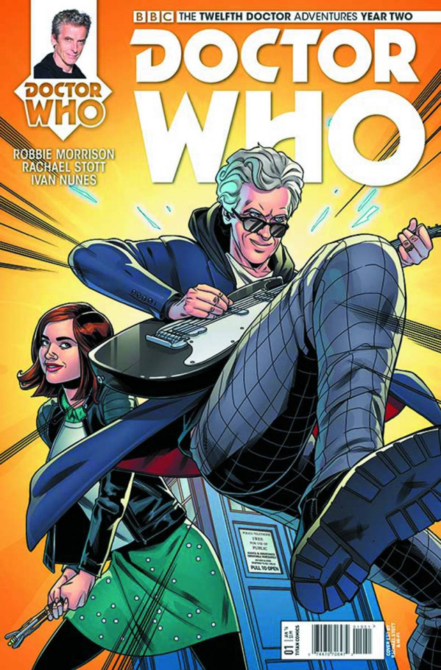 Doctor Who: New Adventures with the Twelfth Doctor, Year Two #1 (Stott Cover)