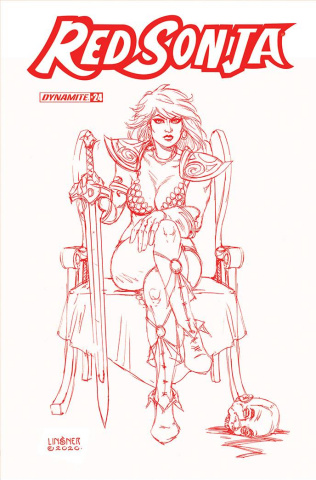 Red Sonja #24 (25 Copy Linsner Tint Cover)