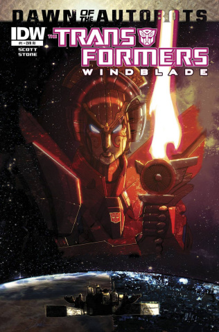 The Transformers: Windblade #1 (Subscription Cover)