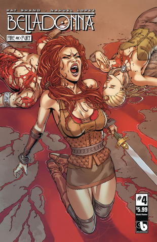 Belladonna: Fire and Fury #4 (Shield Maiden Cover)