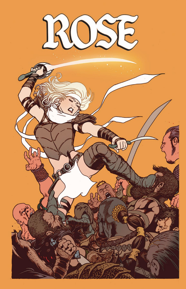 Rose #10 (Maguire Cover)