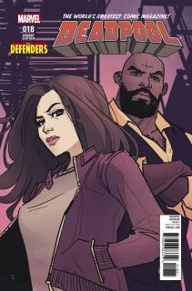 Deadpool #18 (Defenders Cover)