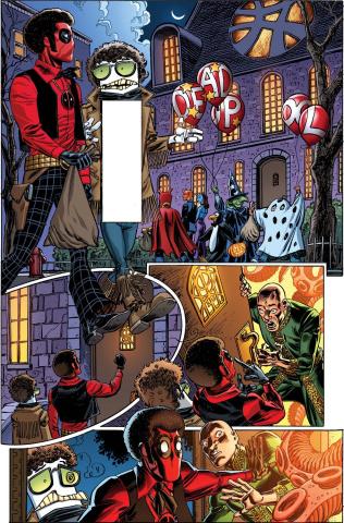 Deadpool #23 (Koblish Secret Comics Cover)