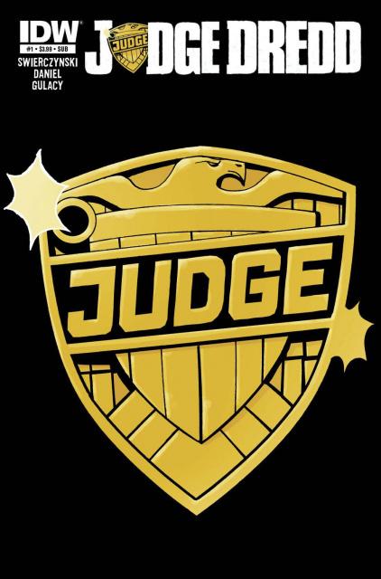 Judge Dredd #1 (Subscription Cover)