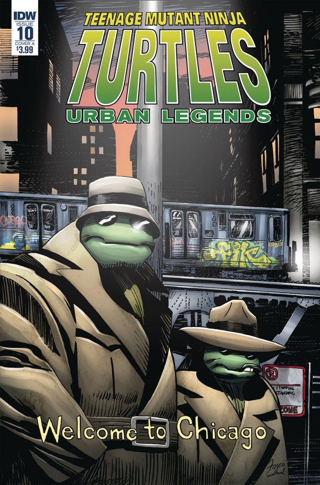Teenage Mutant Ninja Turtles: Urban Legends #10 (Fosco Cover)