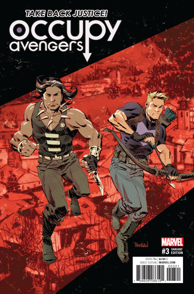 Occupy Avengers #3 (Panosian Cover)