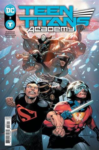 Teen Titans Academy #3 (Rafa Sandoval Cover)