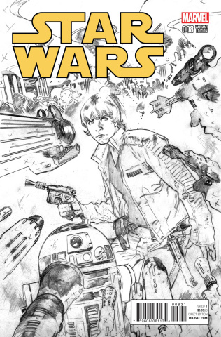 Star Wars #8 (Immonen Sketch Cover)