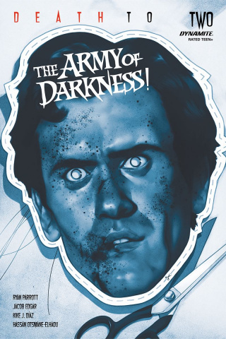 Death to the Army of Darkness #2 (21 Copy Oliver Tint Cover)