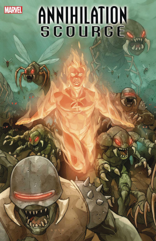 Annihilation: Scourge - Fantastic Four #1 (Noto Cover)