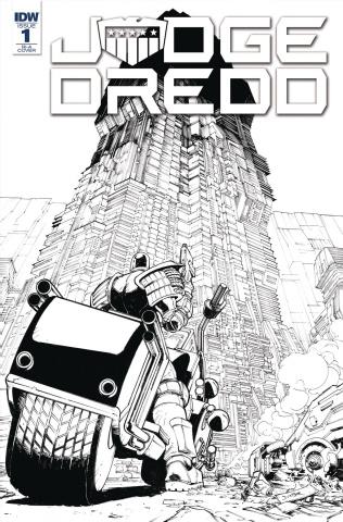 Judge Dredd: Under Siege #1 (10 Copy Cover)