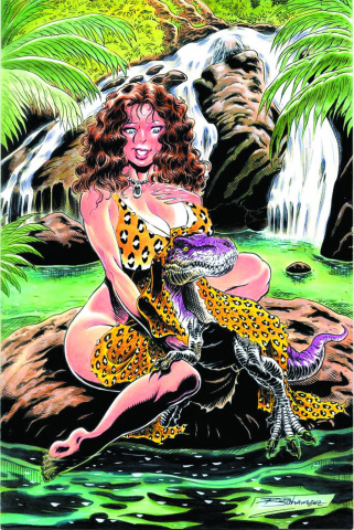 Cavewoman Uncovered: Pinup Book